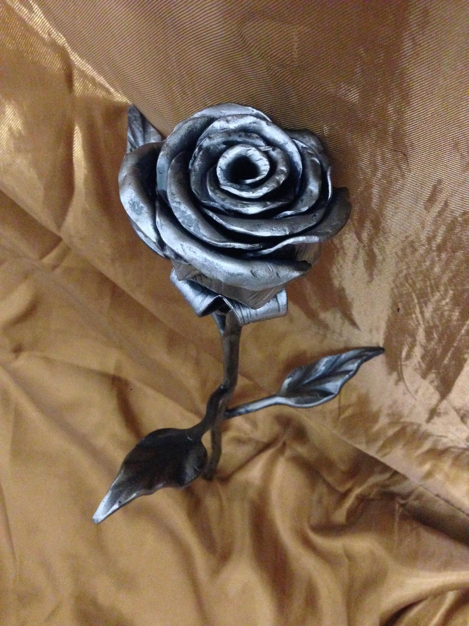 Цветы из металла своими руками фото фото 163