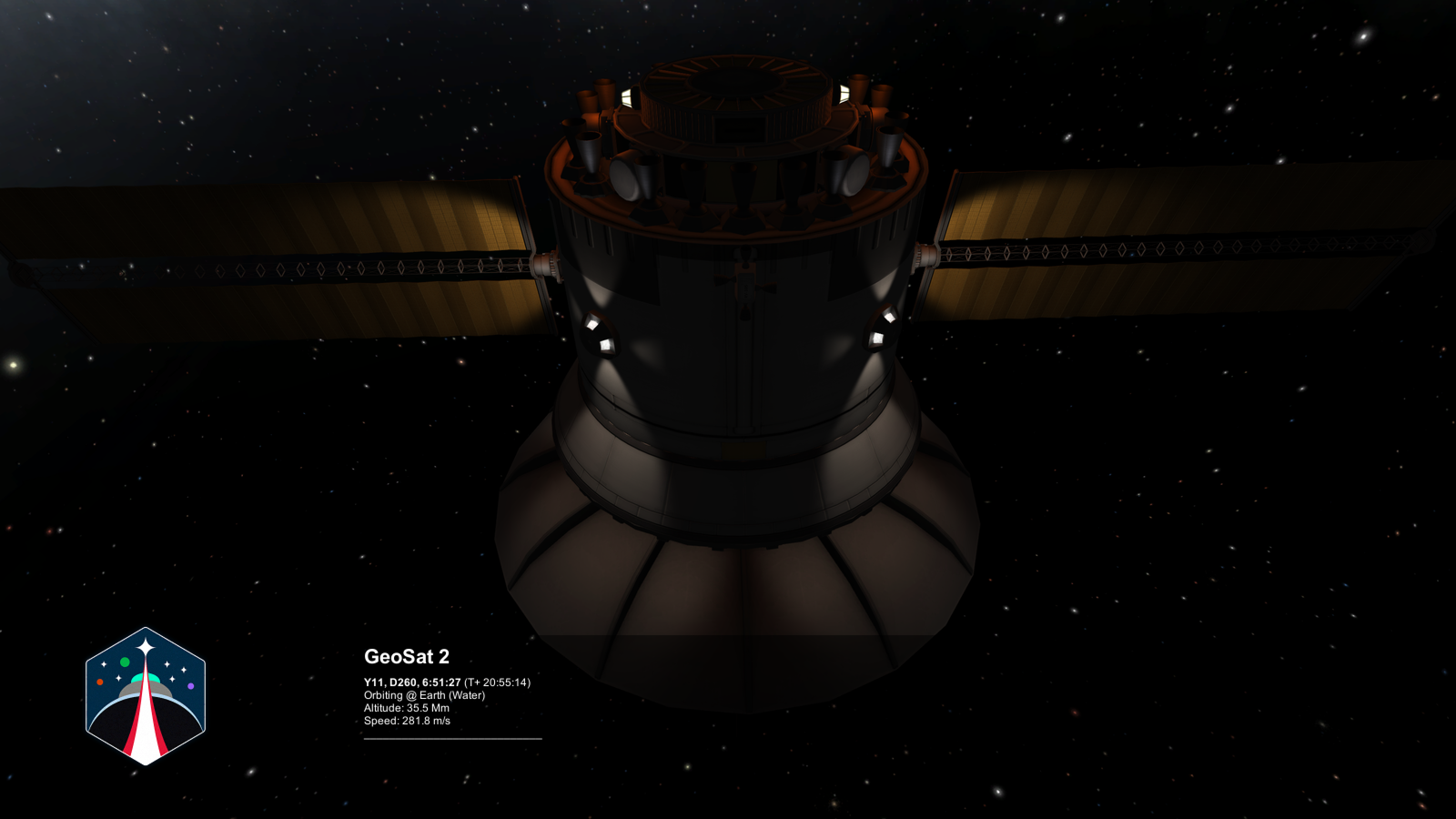 KSP: RSS] Строительство станции на орбите Земли (часть 1)