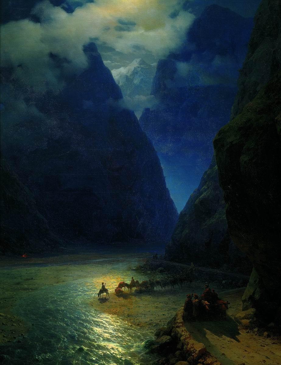 Обои Пейзаж с Грозой, картина, дома, Клод Моне, лодка. Разное foto 7