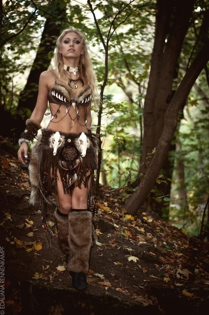 фото девушки амазонки