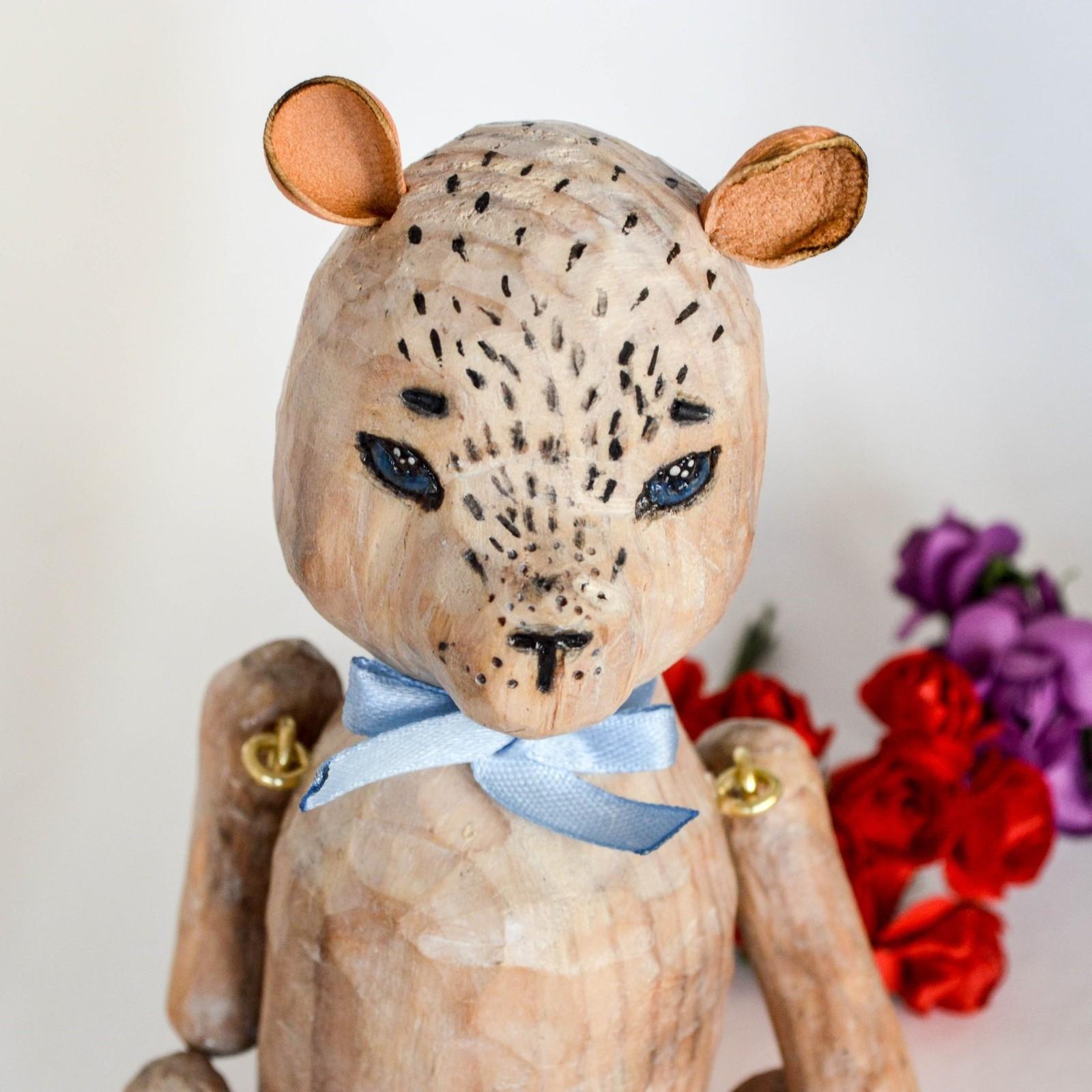 Как сделать мишку для кукол фото 765