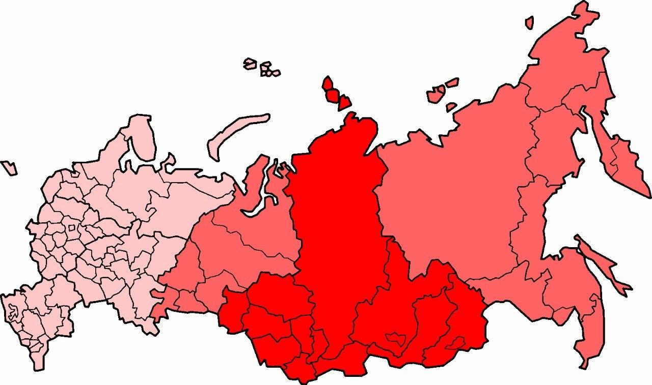 Сибирский федеральный округ похож на член