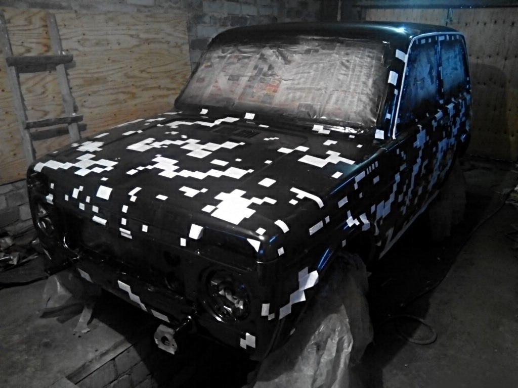 Технология покраски автомобиля своими руками фото 695