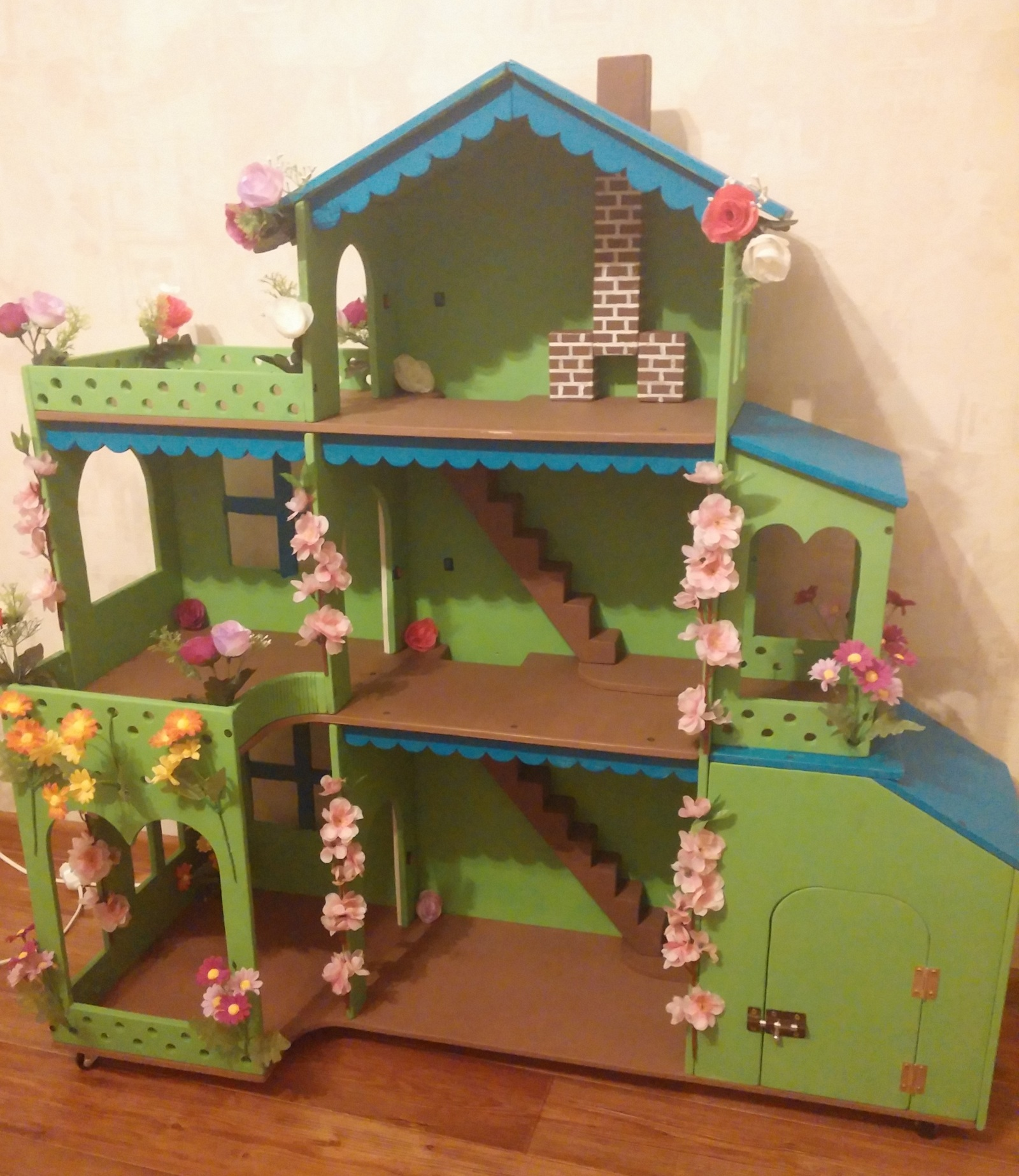 Мой дом для кукол своими руками фото фото 206