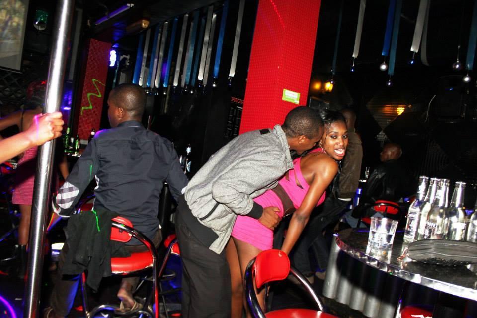 Африканский сексуалный танец