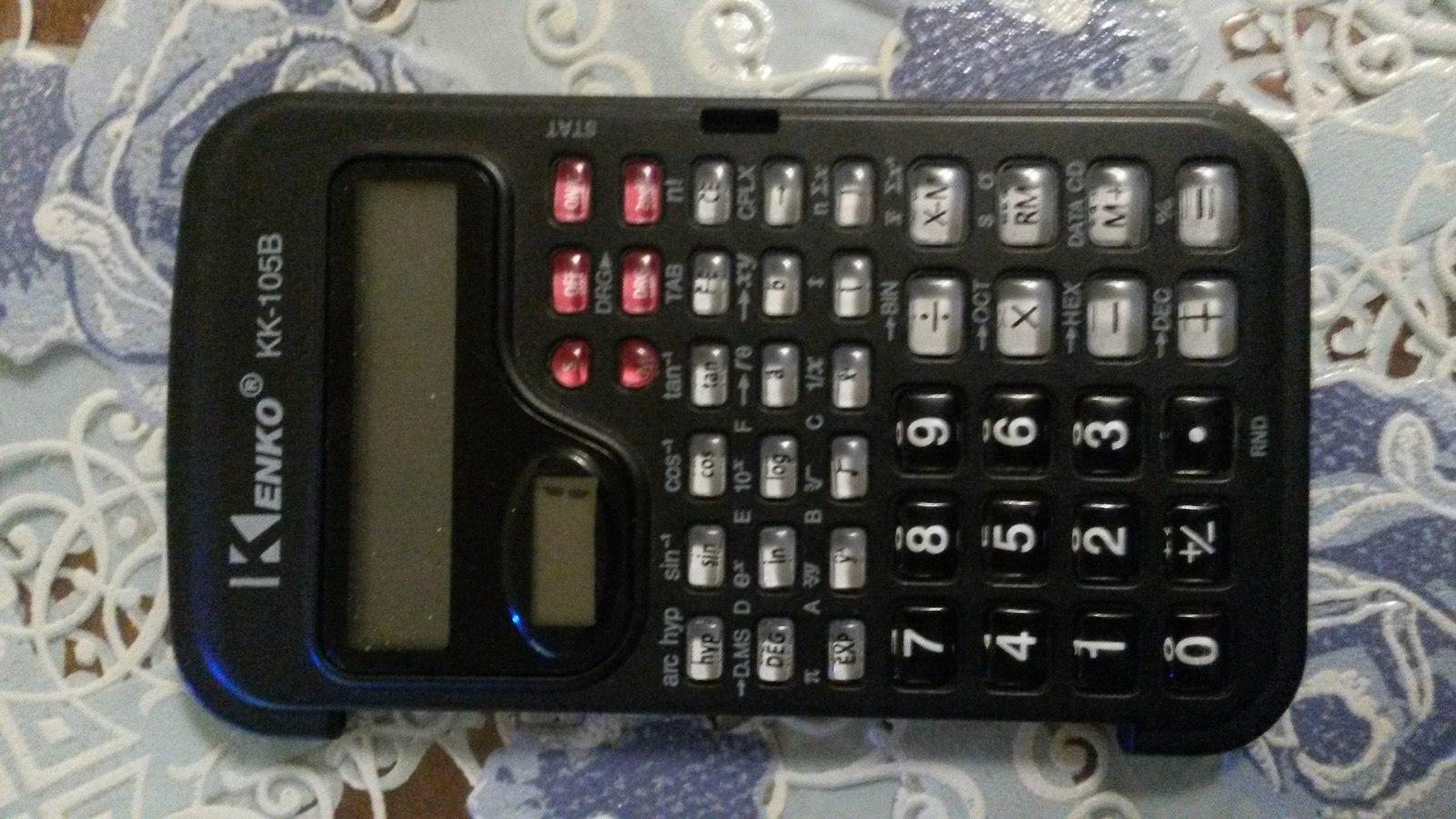Инструкция к калькулятору kenko 105b