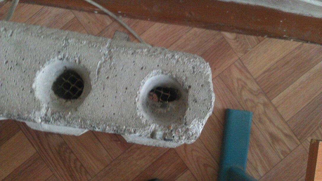 бетона обогреватель
