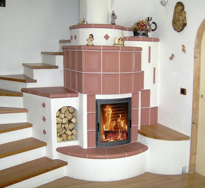 Дизайн печи в частном доме