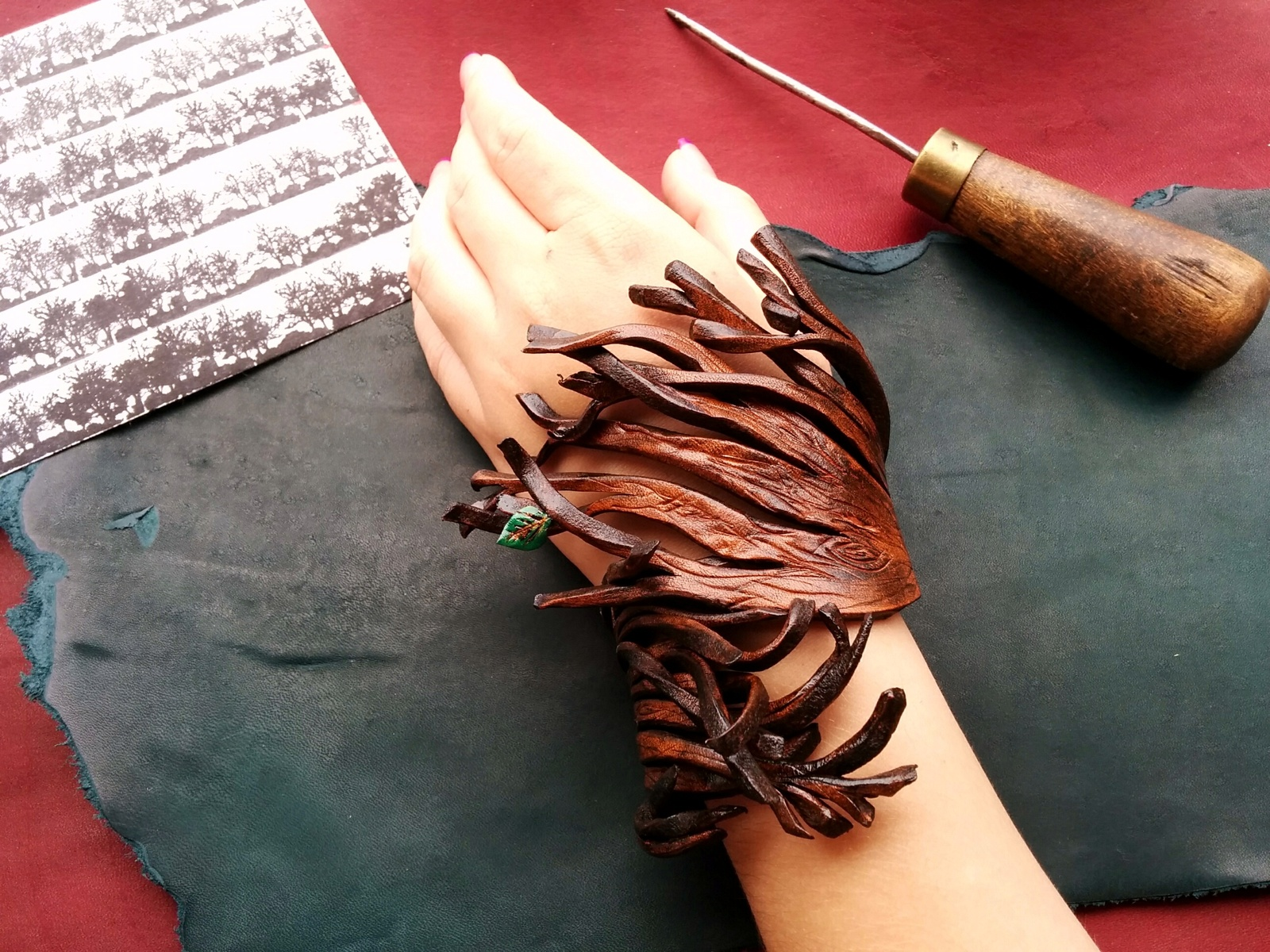 Деревянные браслеты своими руками фото 678