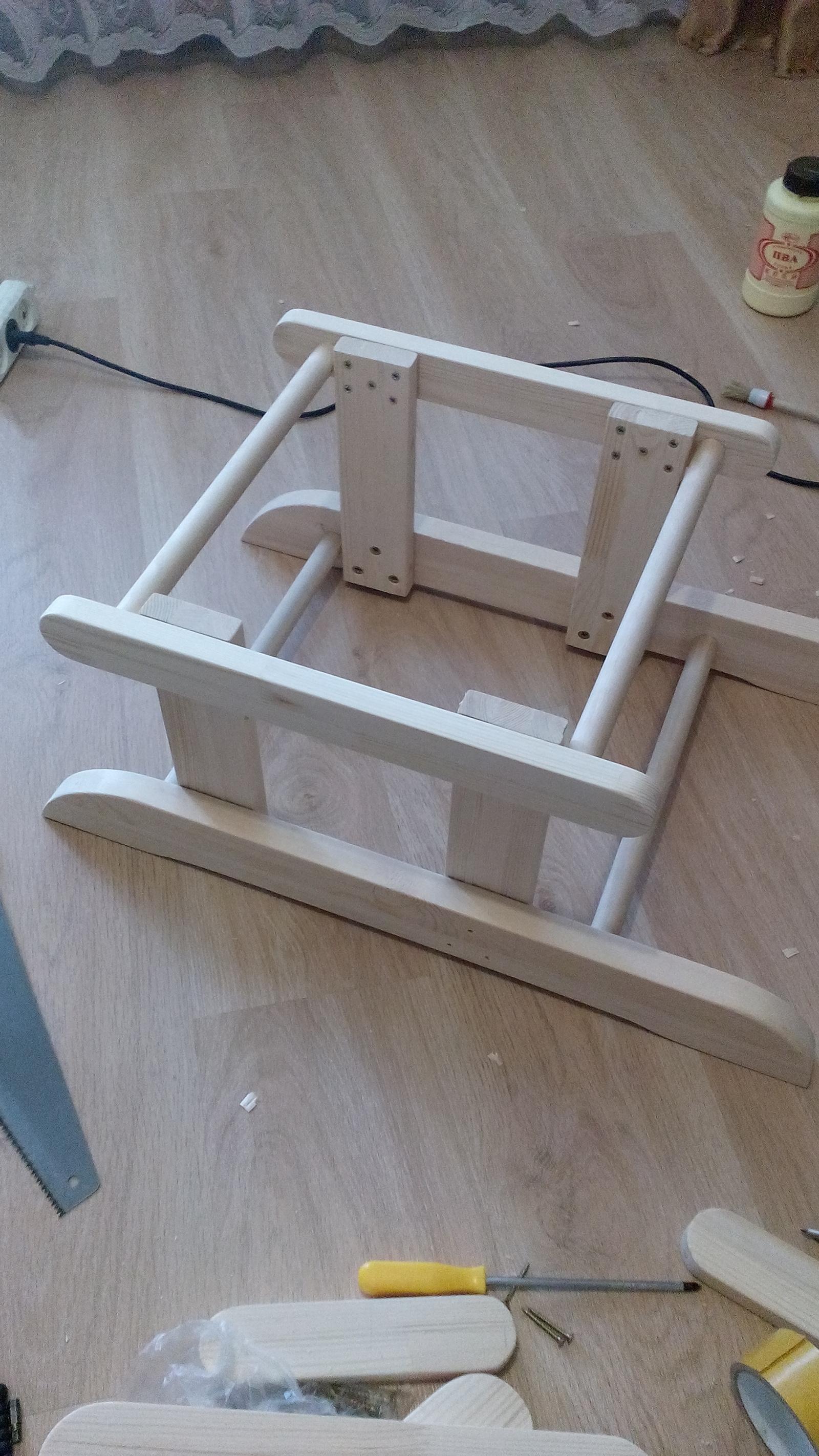 Кресло-качалка глайдер своими руками чертежи фото 658