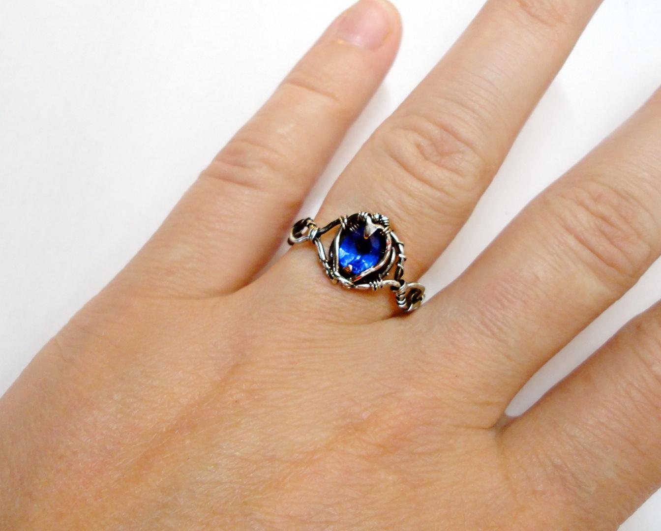 Кольцо на большой палец своими руками 5