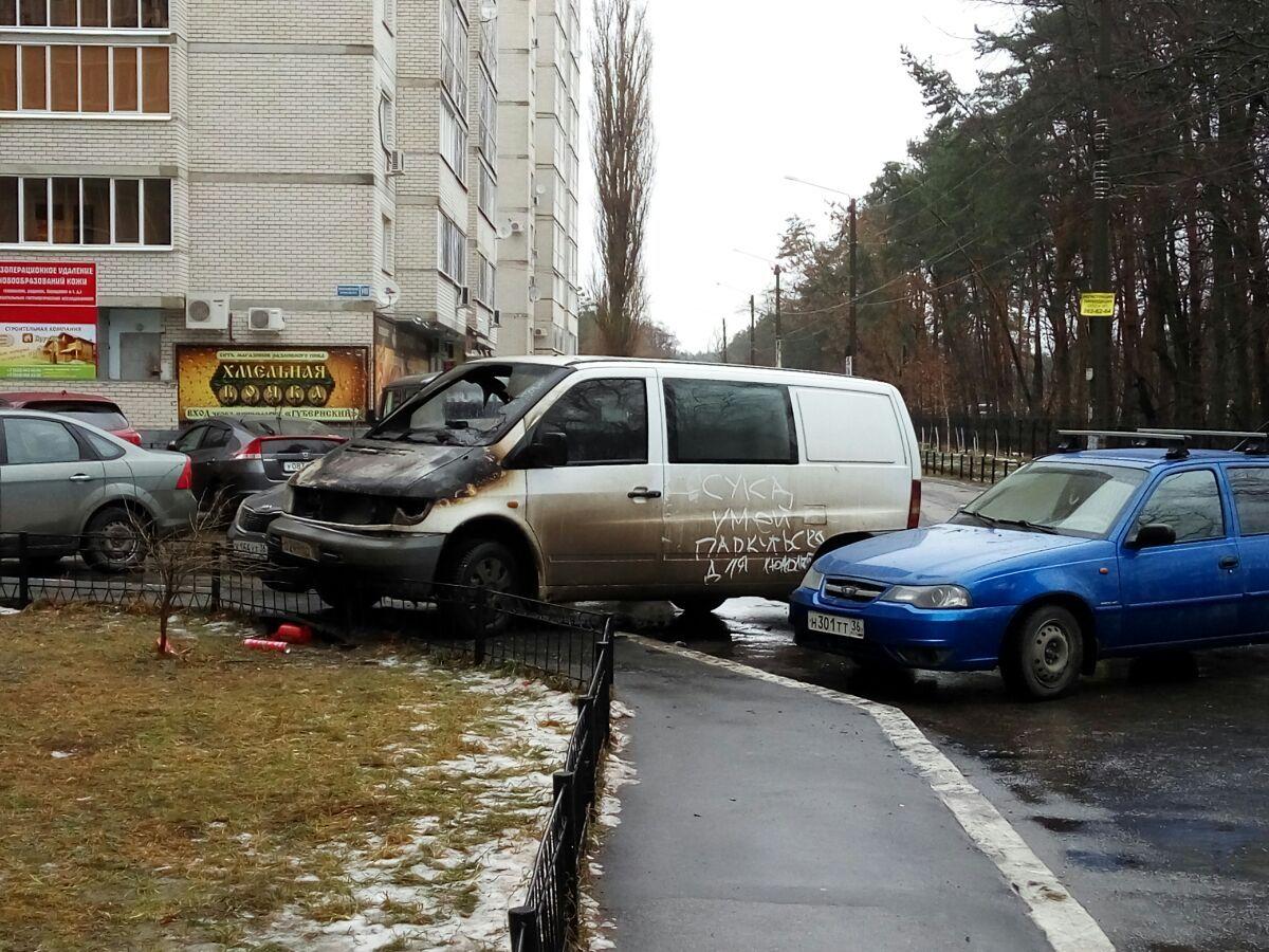 Как сделать чтобы не парковались 657