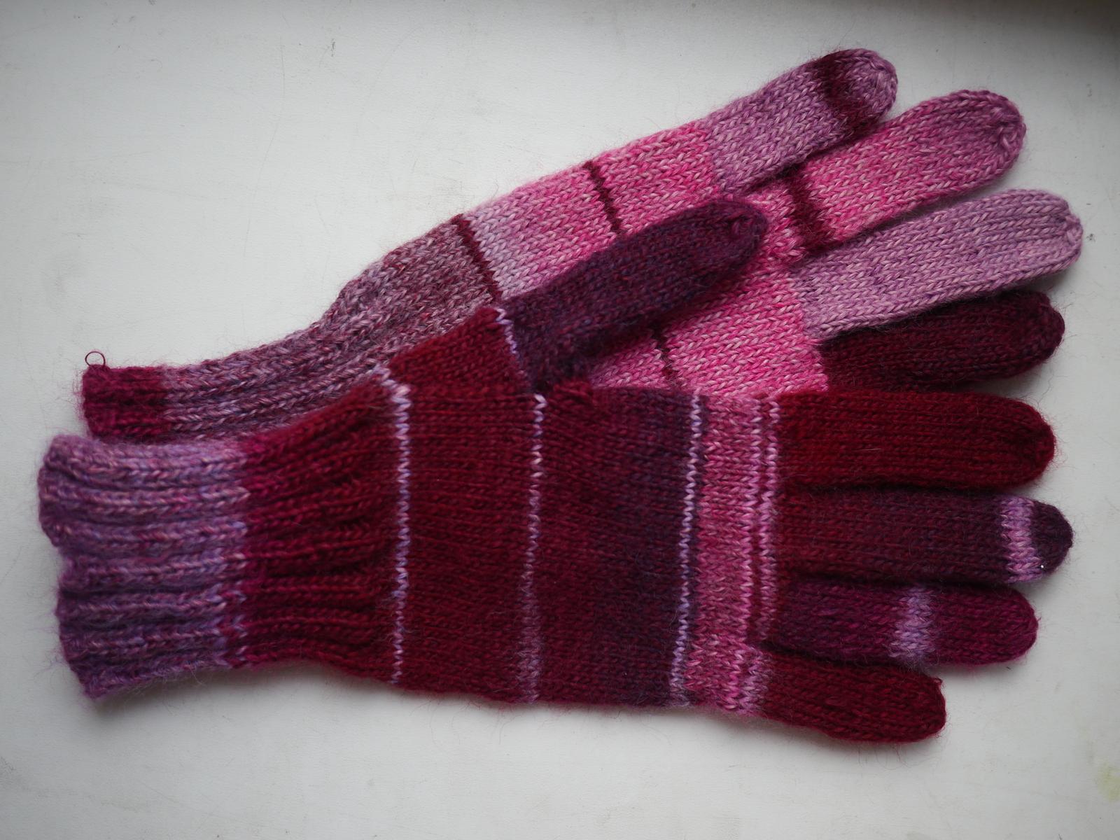 Перчатки вязаные своими руками фото 801