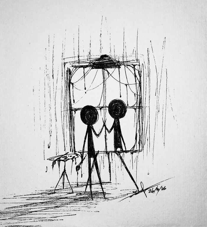 Эмоции в рисунках с подписями