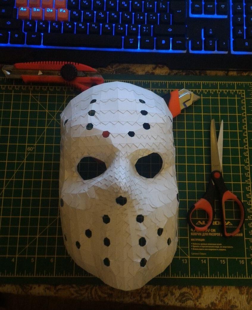 Легендарная маска Джейсона Вурхиза : как сделать своими руками? 82