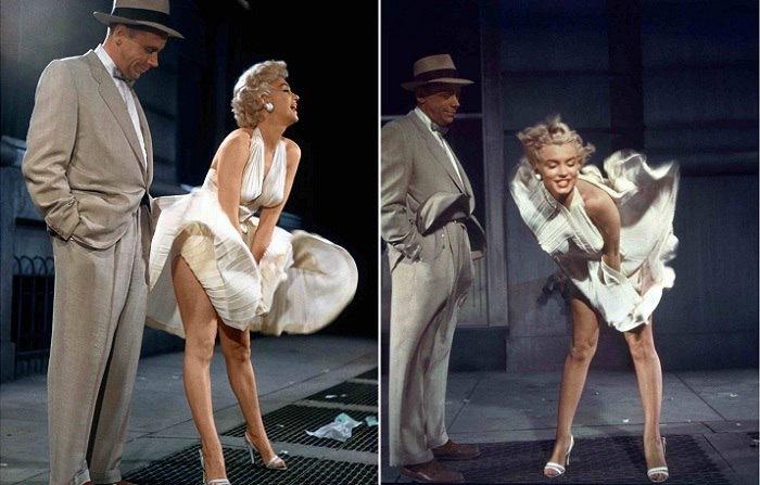 Актрисы задирают платья