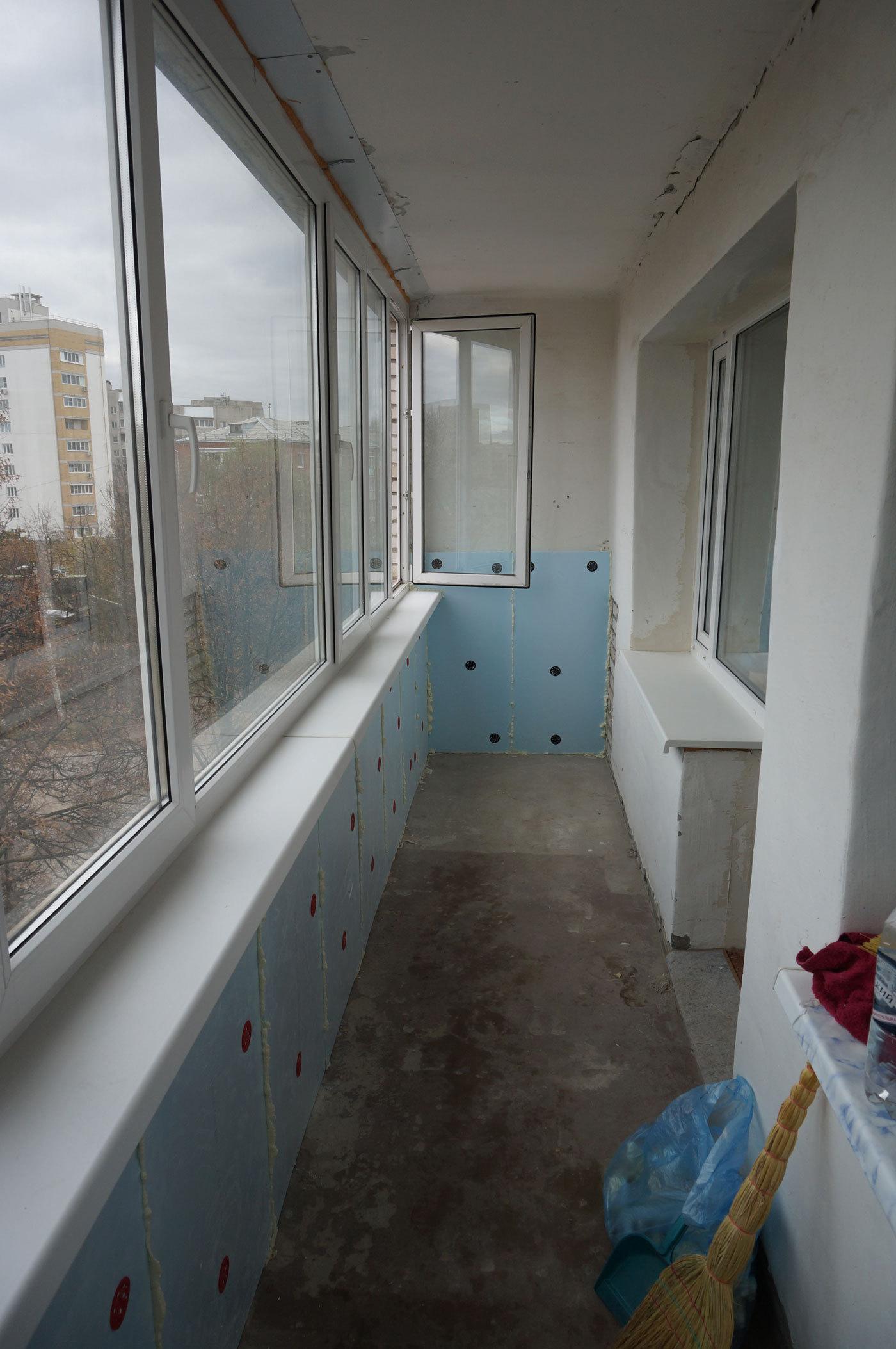 Ремонт верхнего балкона остекление балконов красногорск