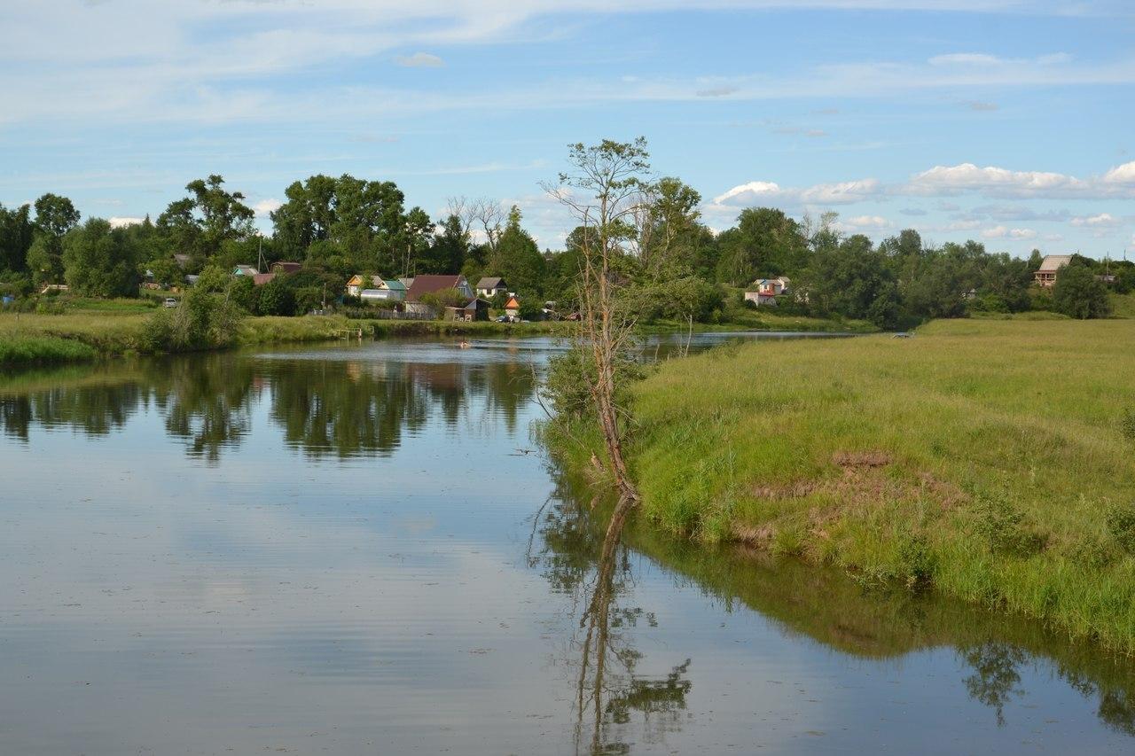 фото природа летом в деревне