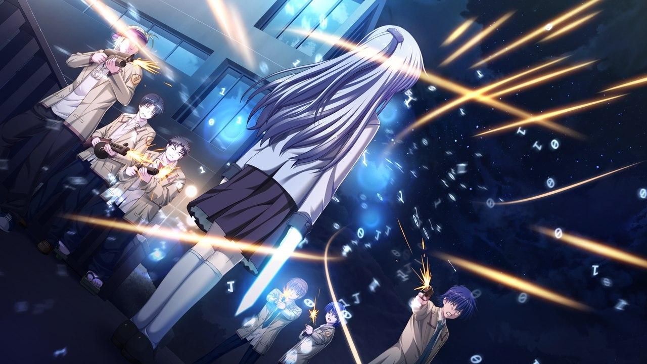 Скачать через торрент аниме ангельские ритмы.