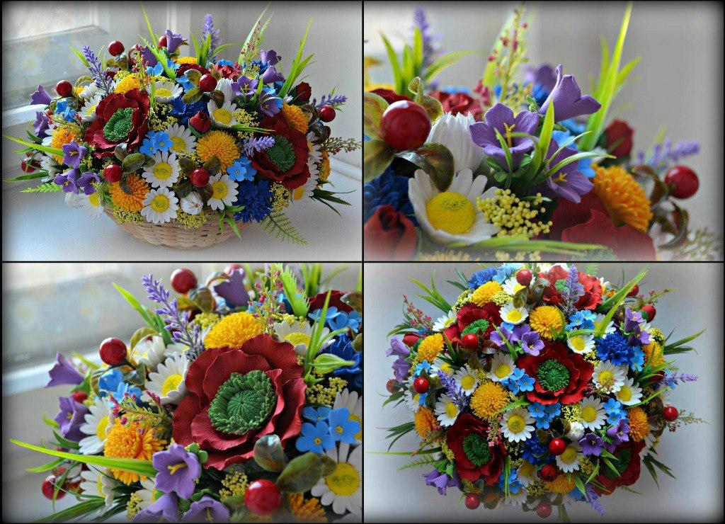 Полевые цветы своими руками фото 981