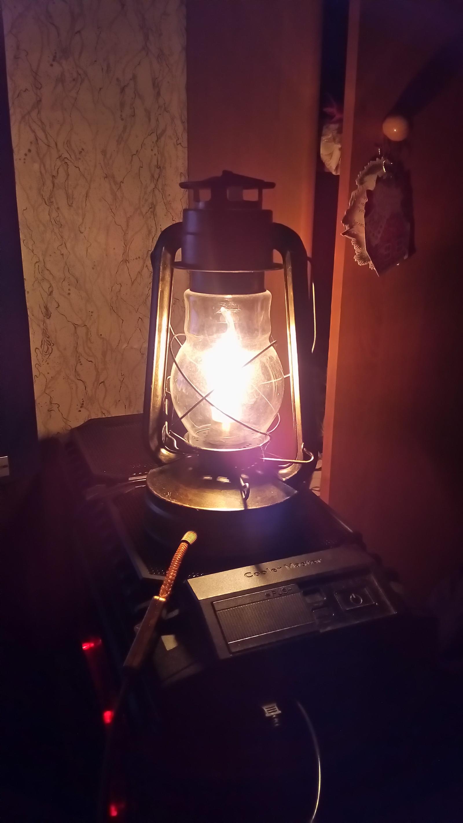 Собрать светильник своими руками