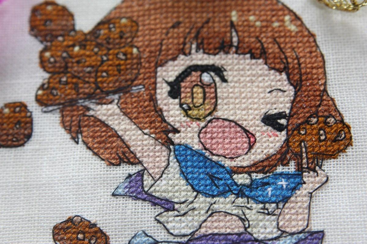 Картинки аниме вышивка