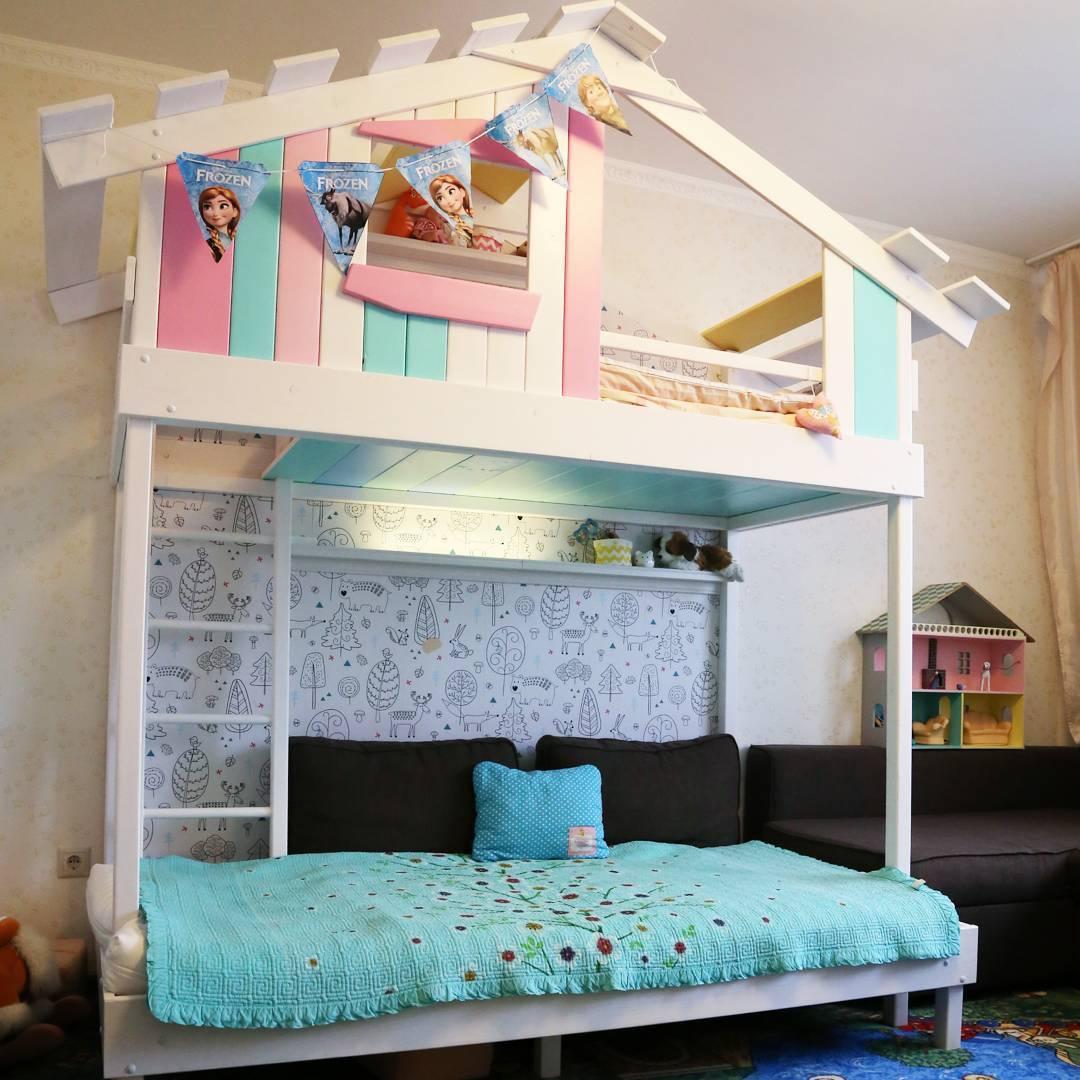 Кровать домик своими руками чертежи фото фото 262
