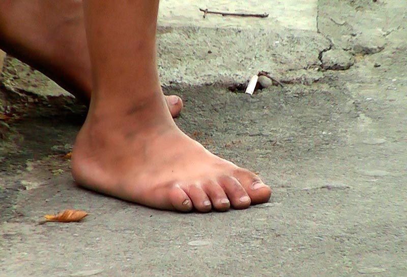 Большие грязные ноги фото 662-772