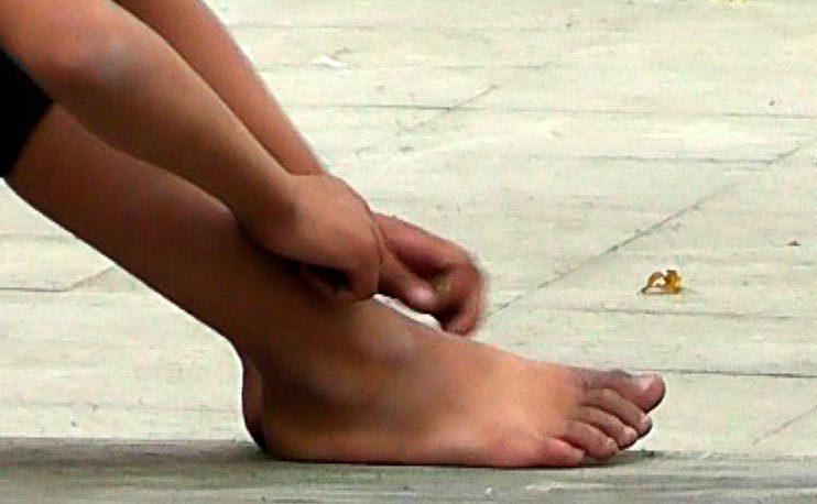 Видео ноги фетиш