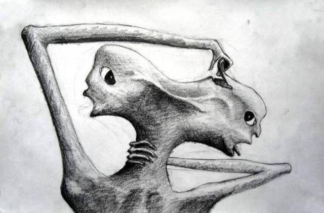 картинки шизофреников рисунки