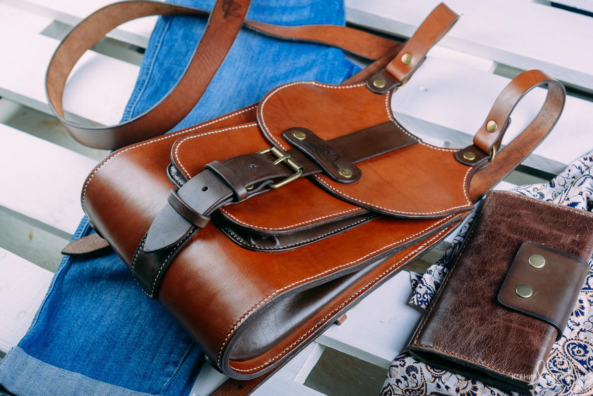 c16ccbaf6222 Первый рюкзак из кожи своими ручонками