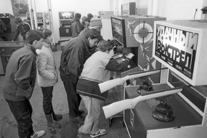 игровые автоматы начала 90-х