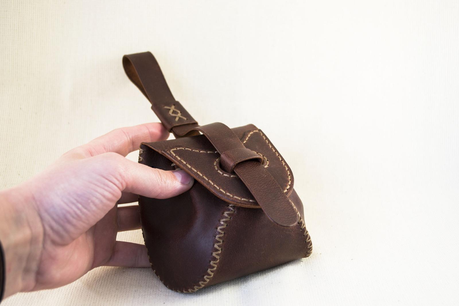 3e9e7f663aa6 Как я это делаю: Небольшая поясная сумка Длиннопост, Кожа, Своими руками,  Сумка