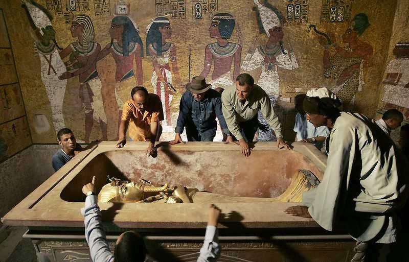 Доклад сокровища гробницы тутанхамона кратко 1625