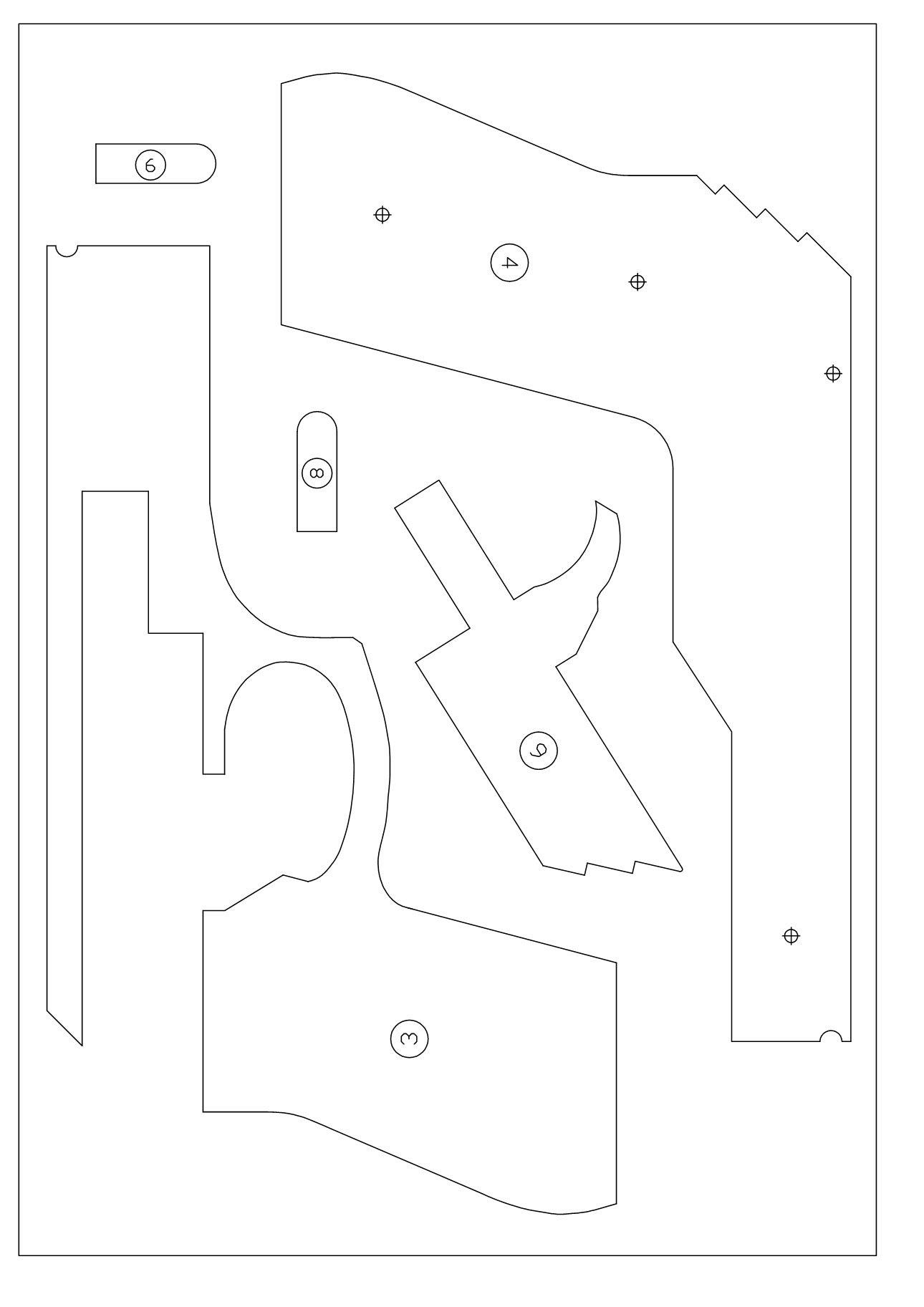Пистолет из бумаги схема фото 295
