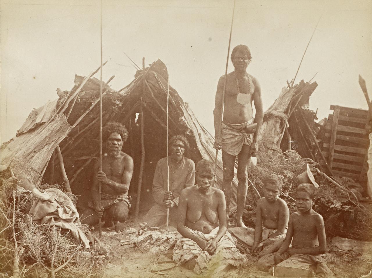 Сексуальные инициации австралийских плем н