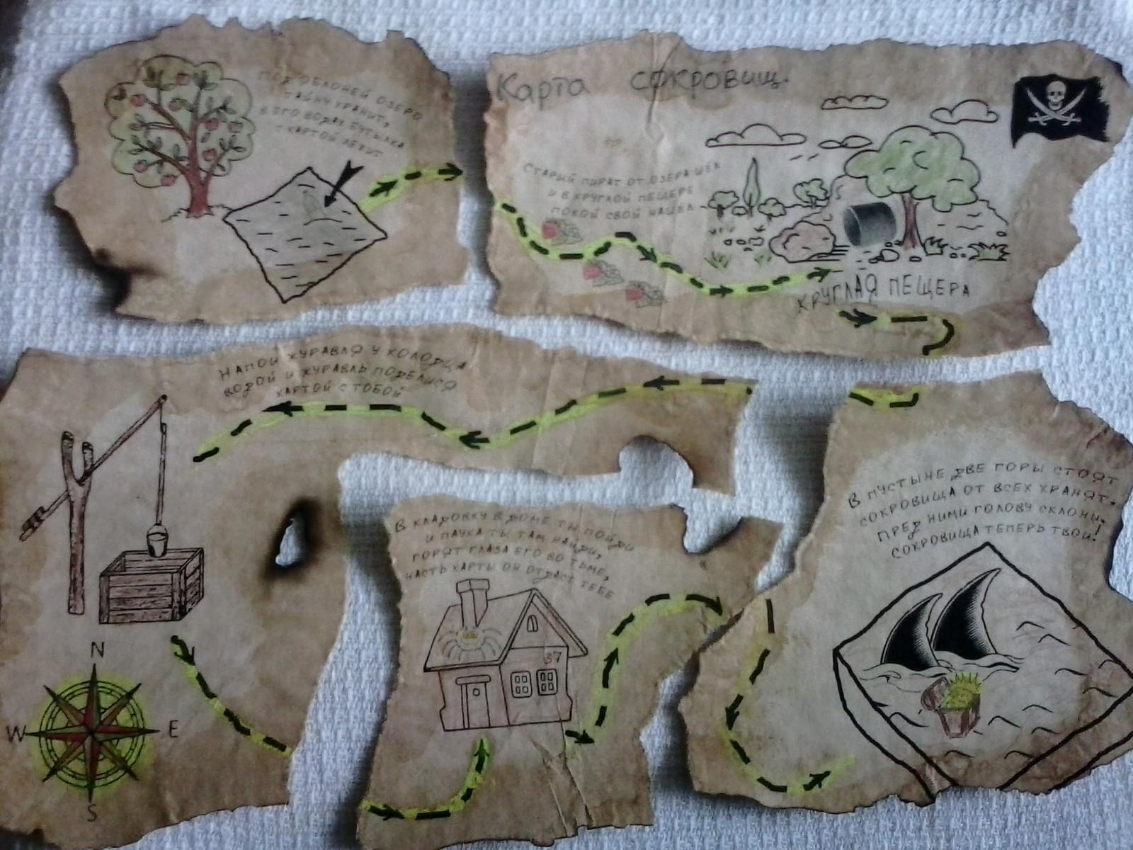 Как играть в карту с сокровищами с детьми игровая зона казино муровьиная бухта владивостока