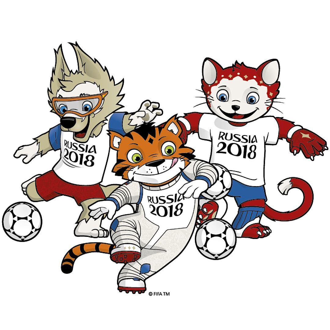 Талисманы для чемпионата мира по футболу 2018