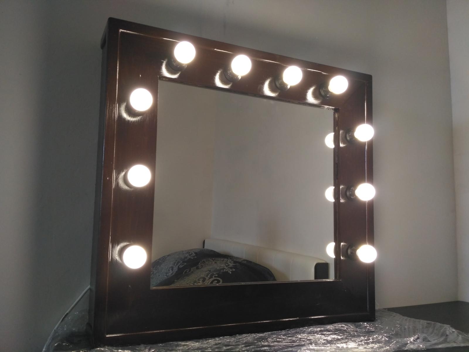 Гримерное зеркало с лампочками своими руками фото 909