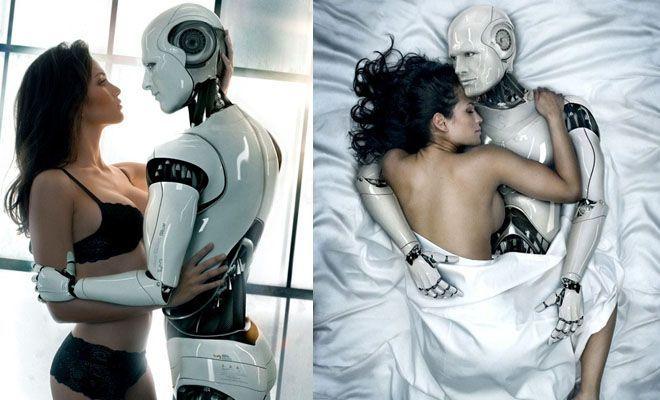 Роботы и люди секс
