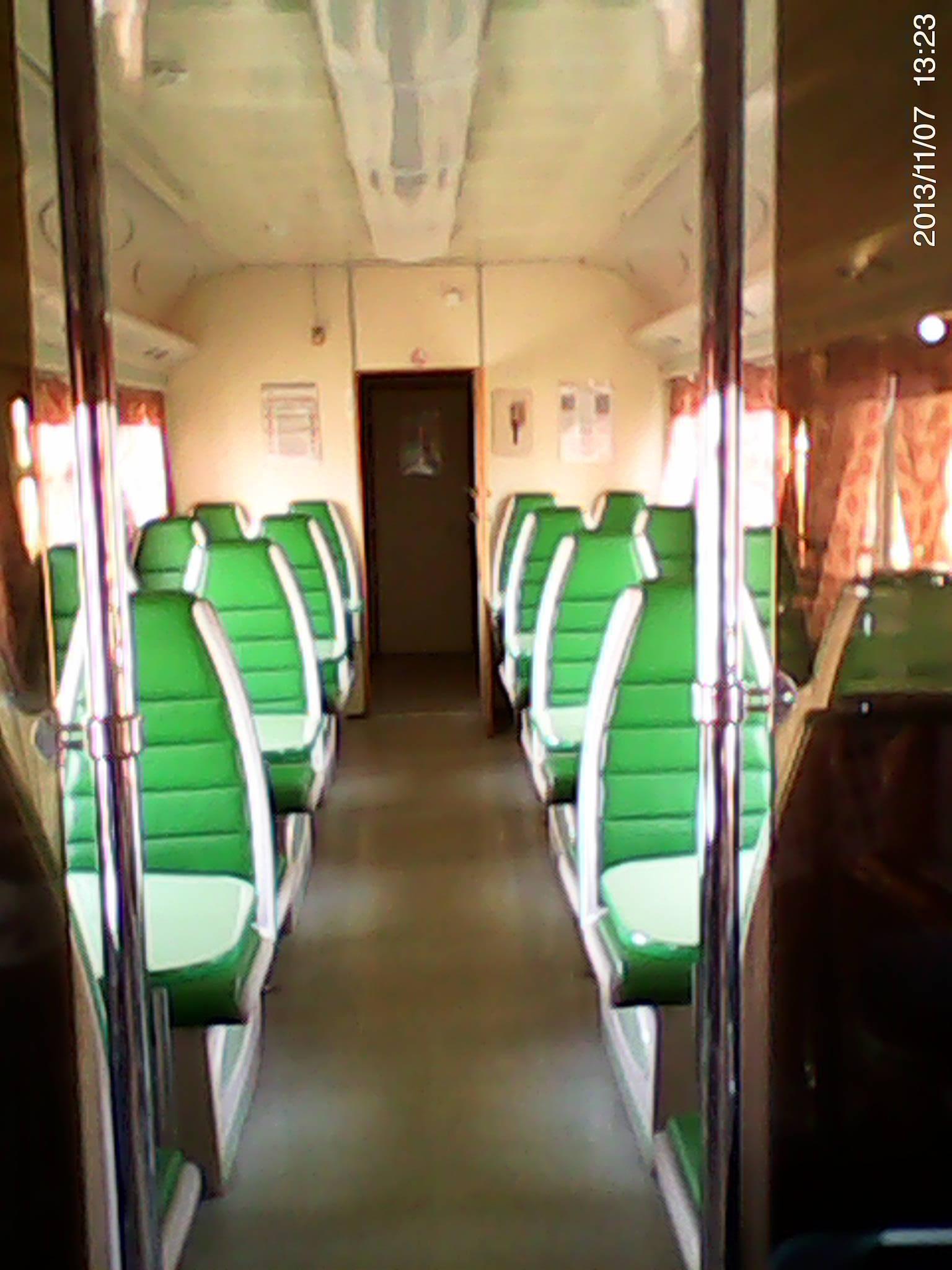 Ночью в поезде скрытая камера