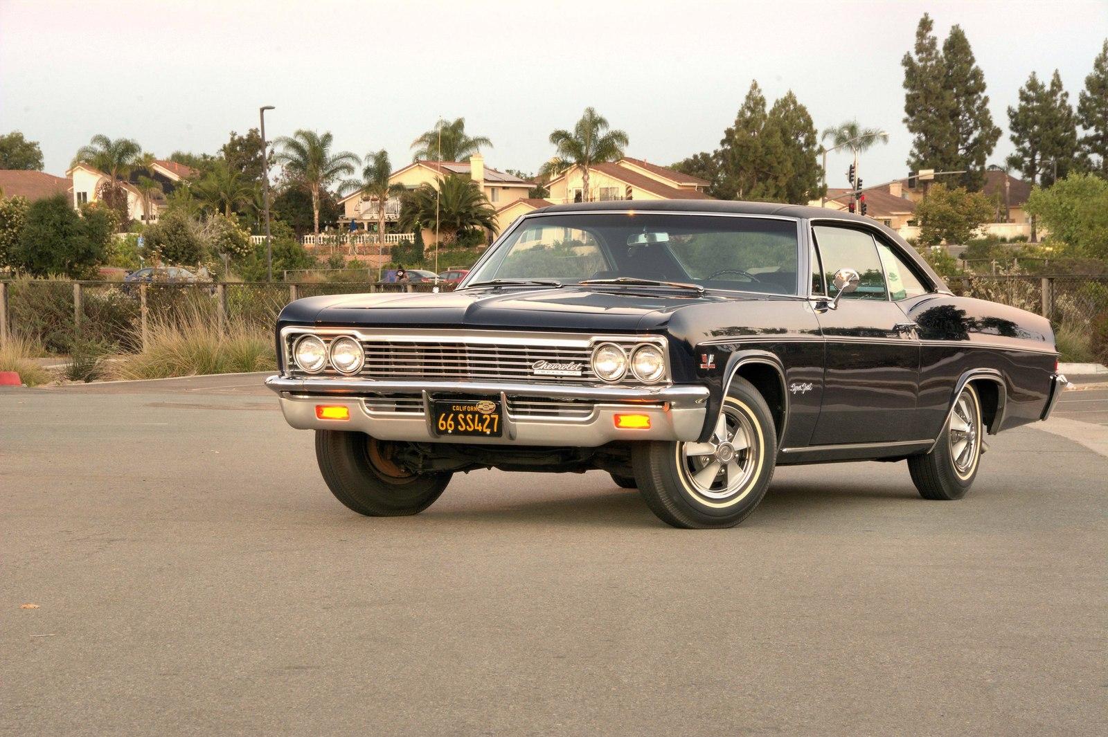 chevrolet impala с пневмоподвеской
