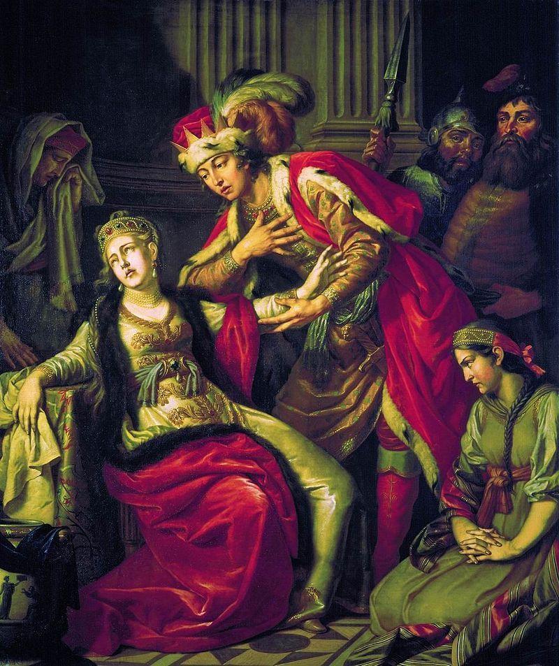 Пьяне разврат как норма в средние века трахает свою