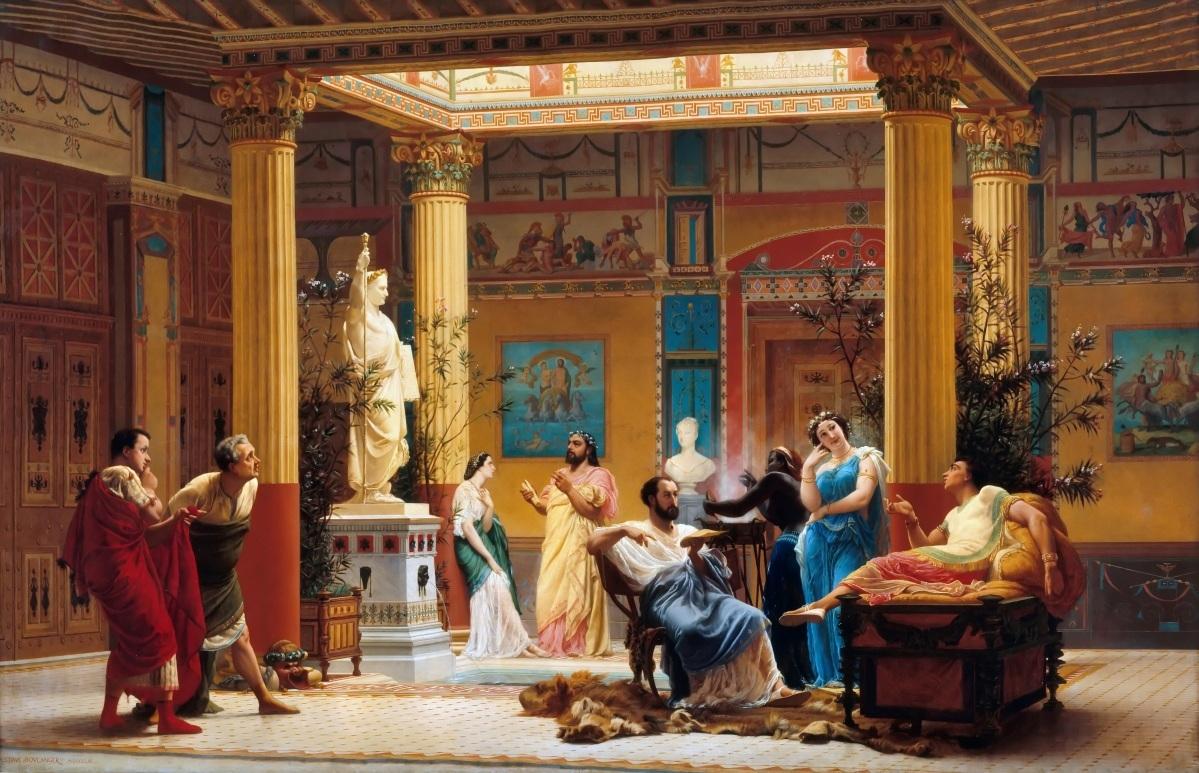 Сексуальный развлечения древнего рима