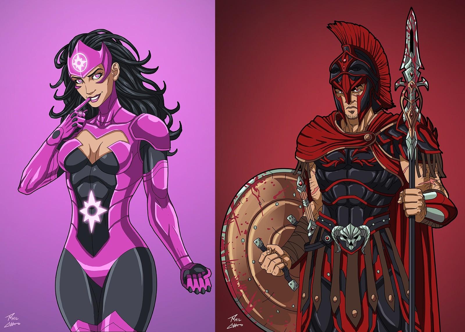 Вселенная dc comics персонажи список