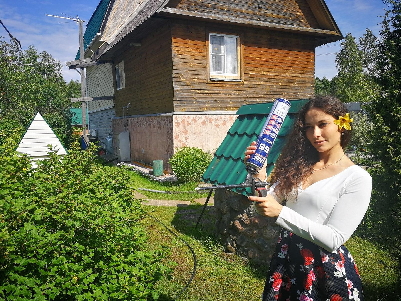 фото девушек на даче