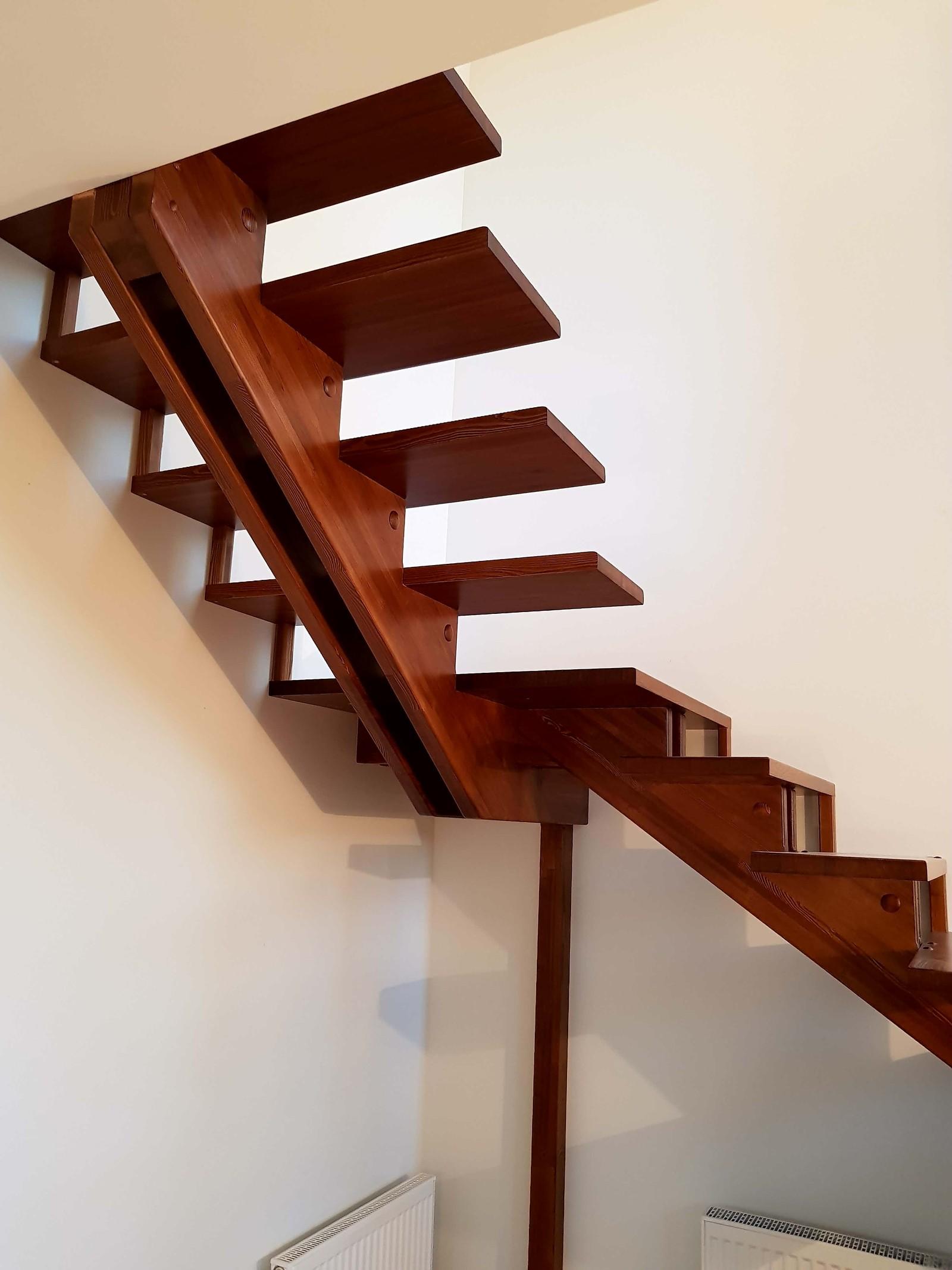 Как сделать лестницу переход 12