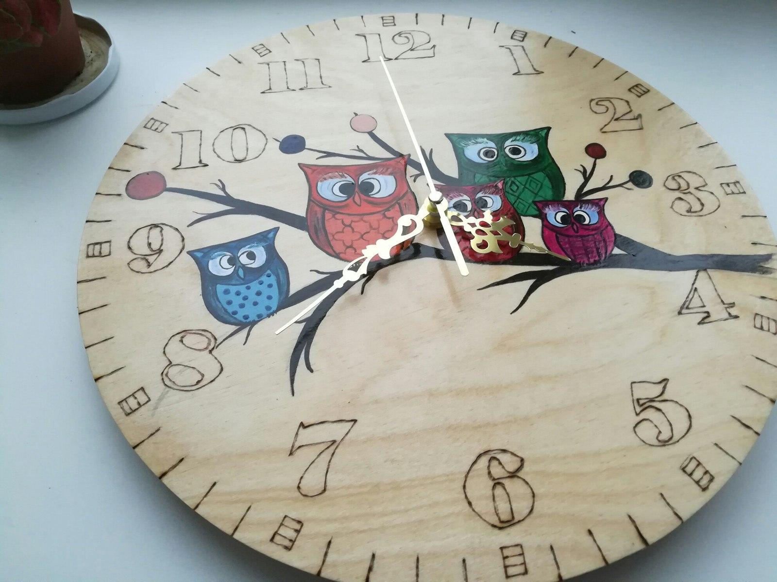 Часы из фотографии своими руками