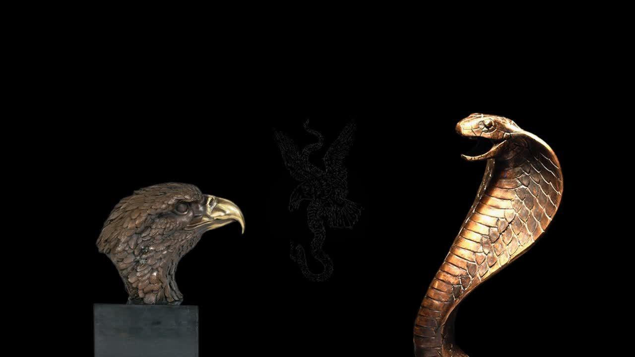 золото фараона орел