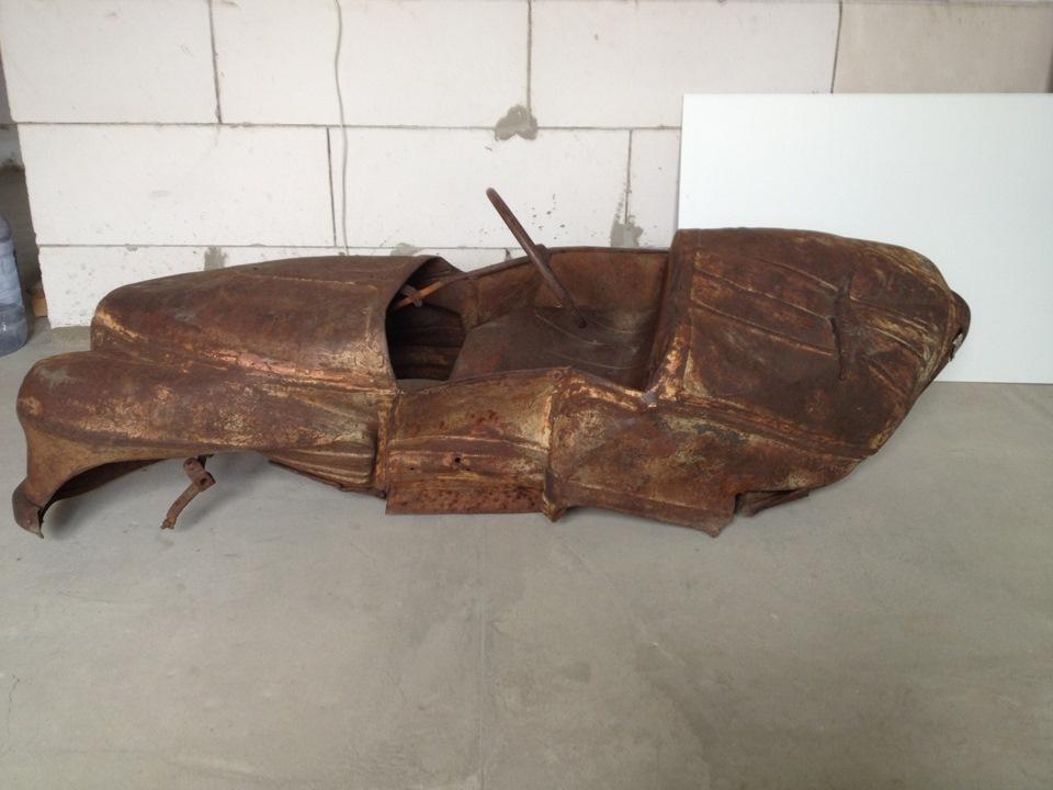 Реставрация педальной машинки УРАЛ